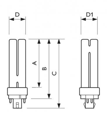 Master PL-C 18W-840 4P Xtra