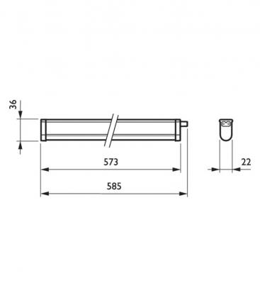 Pentura Mini LED BN130C LED6S 840 PSU L585
