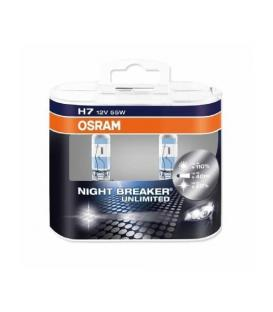 H7 12V 55W 64210 NBU Night Breaker Unlimited - Paquet double