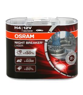 Più su H4 12V 55W 64193 NBL Night Breaker Laser Confezione doppia