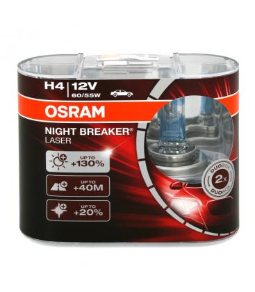 H4 12V 55W 64193 NBL Night Breaker Laser Confezione doppia 64193-NBL-DUO 4052899436619