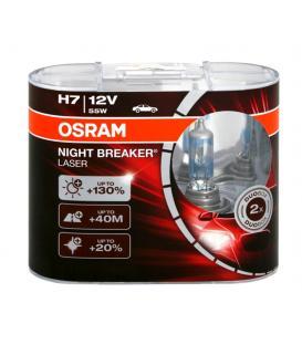 Più su H7 12V 55W 64210 NBL Night Breaker Laser Confezione doppia