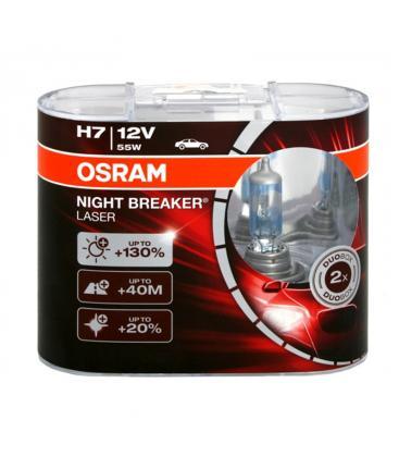 osram h7 12v 55w 64210 nbl night breaker laser double pack. Black Bedroom Furniture Sets. Home Design Ideas