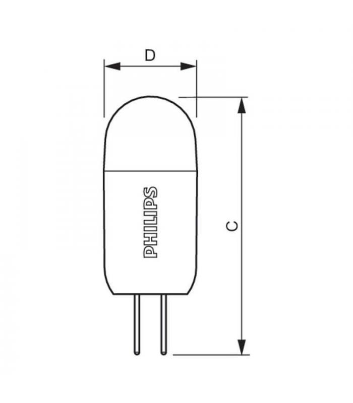 CorePro LedcapsuleLV 2 20W 827 G4 Philips | Led lamps