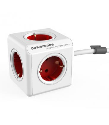 PowerCube Extended Type F Rouge 1.5 m PC:1300RD/DEEXPC 8718444081142