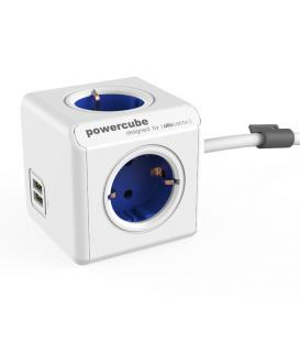 Mehr über PowerCube Extended USB Typ F Kobaltblau 1.5 m