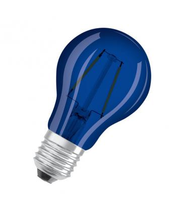 Led Star Deco Classic A 15 1.6W 9000K 300° E27 Blu LEDSCLA15-BLUE1 4058075815995