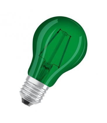 Led Star Deco Classic A 15 1.6W 7500K 300° E27 Verde LEDSCLA15GREEN1 4058075816015