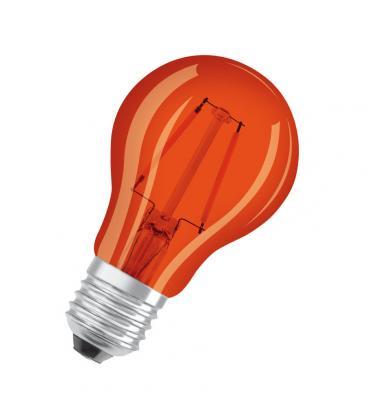 Led Star Deco Classic A 15 1.6W 1500K 300° E27 Naranja LSCLA15-ORANGE1 4058075816039