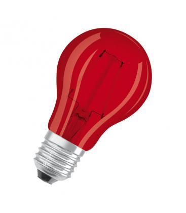 Led Star Deco Classic A 15 1.6W 3000K 300° E27 Rosso LEDSCLA15-RED1 4058075816053