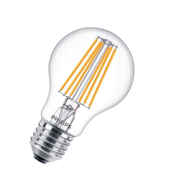 philips classic ledbulb nd 8 75w 220v 827 a60 cl e27 led. Black Bedroom Furniture Sets. Home Design Ideas