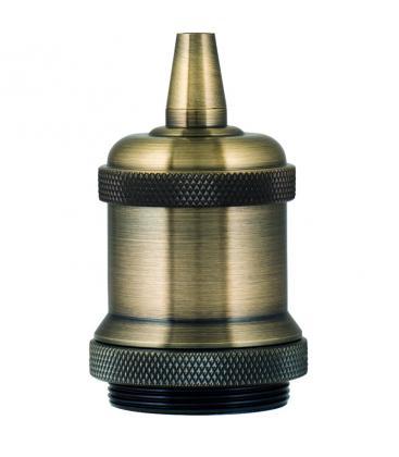 Retro Douille Alu E27 Bronze antique 139692 8714681396926
