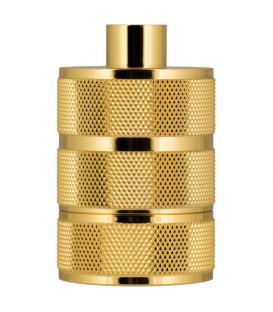 More about Lampholder Alu Grid E27 Gold
