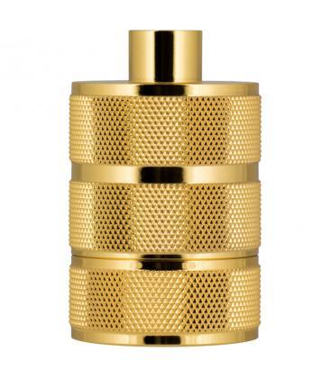 Fassung Alu Grid E27 Gold 140324 8714681403242