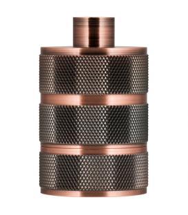 Mehr über Fassung Alu Grid E27 Kupfer Antik