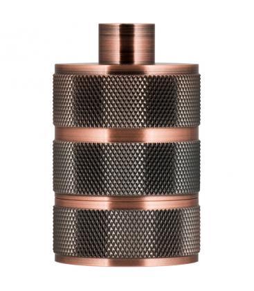 Lampholder Alu Grid E27 Copper Antique 140326 8714681403266
