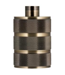 Mehr über Fassung Alu Grid E27 Bronze Antik