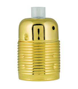 More about Lampholder Metal E27 Gold