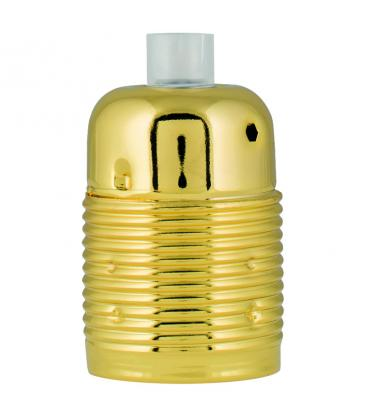 Lampholder Metal E27 Gold 139698 8714681396988