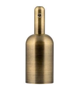 Più su Portalampada Alu Bottle E27 Bronzo antico