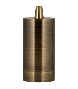 Plus de Douille Alu Long E27 Bronze antique