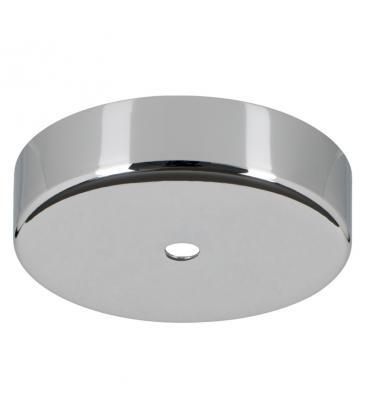 Ceiling Cup Metal Cromo + Presa del cavo trasparente 139702 8714681397022