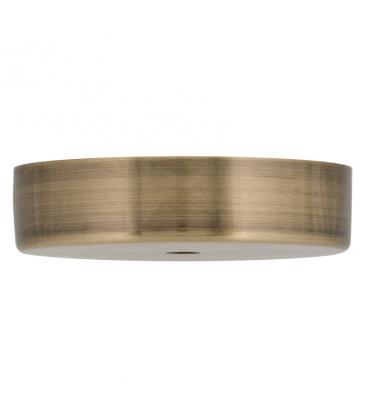 Ceiling Cup Metal Bronce antiguo + Agarre del cable transparente 140334 8714681403341