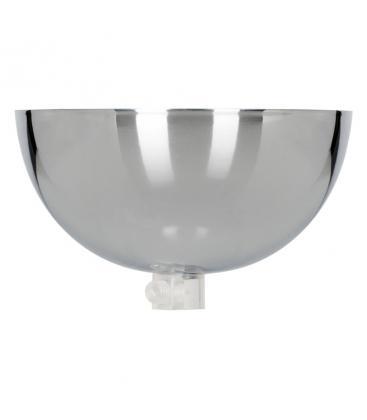 Ceiling Cup Bowl Cromo + Presa del cavo trasparente 140335 8714681403358