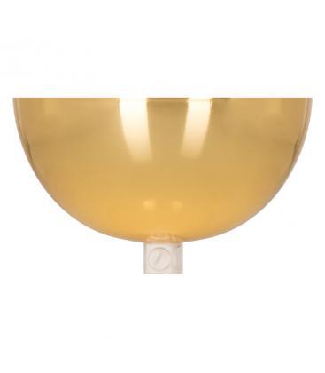 Ceiling Cup Bowl Zlata + Prozorna oprijemka kabla 140338 8714681403389