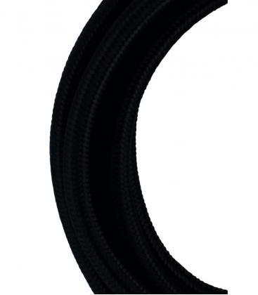 Câble textile 2C Noir 3m 139672 8714681396728