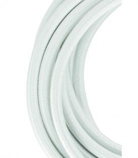 Mehr über Textilkabel 2C Weiß 3m
