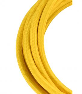More about Textile Cable 2C Yellow 3m