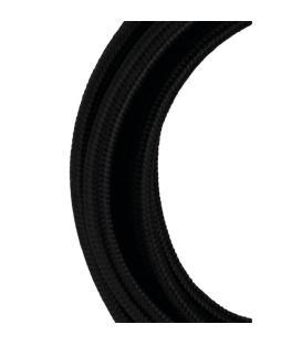Plus de Câble textile 2C Noir 50m