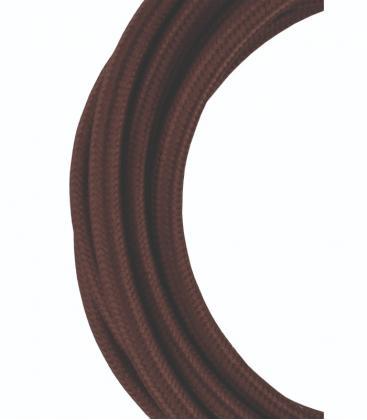 Tekstilni kabel 2C Rjava 3m 139675 8714681396759