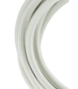 Plus de Câble textile 2C Beige 3m