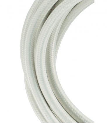 Câble textile 2C Beige 3m 139683 8714681396834