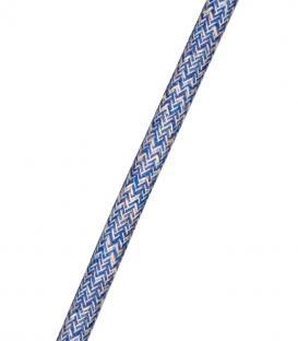 Più su Cavo Tweed 2C Blu 3m