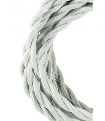 Cable Textil Twisted 2C Beige 3m 139688 8714681396889
