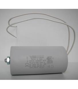 Più su Condensatore VS 45mF 50/60Hz 250V 40977
