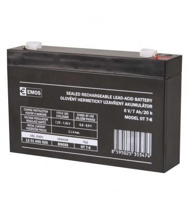 SLA Battery 6V/7Ah B9659 8595025353474