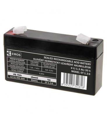 SLA Batteria 6V/1,3Ah B9651 8595025340818