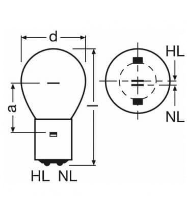 SIG 1820 20-20W 12V BA20d