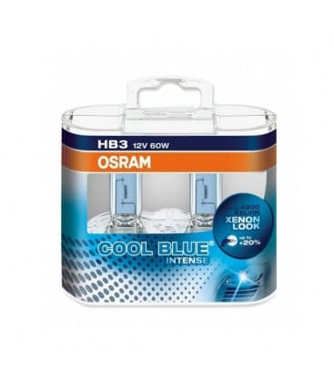 HB3 12V 60W 9005 CBI Cool Blue Intense - Double pack