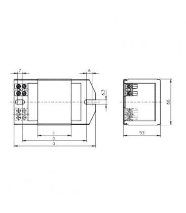 Ballast NAHJ 50.486 230-240V 50HZ HS