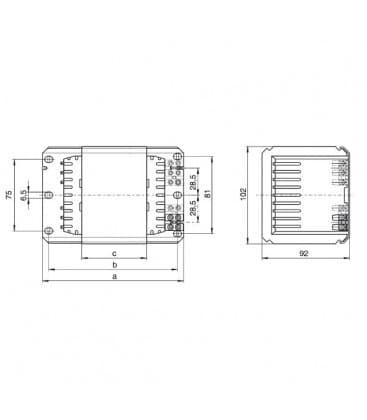 Ballast NAHJ 600.005 230-240V 50HZ HS