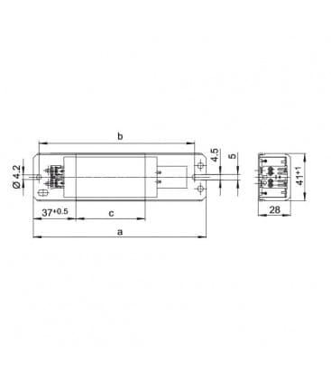 Reactancia LN30.801 230V 50HZ T8