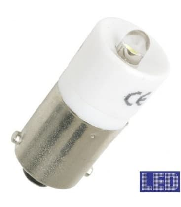 Ba9s S.Led White 24 28V AC/DC r0923