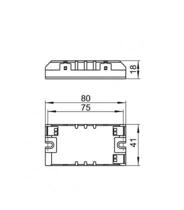 ELXs 124.902 1x14-24W TC-F-L, T5, T8, T-R5