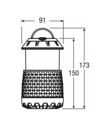 LED Crosser Tube 2.2W 4.5V