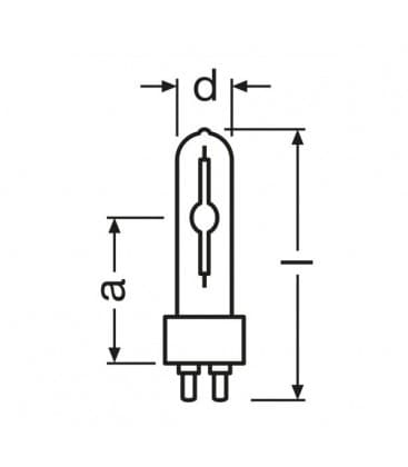 HCI-t 100W-830 wdl pb G12